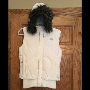 North Face Down Hooded Vest